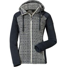 Schöffel Millau2 Manteau à capuche en polaire Femme, navy blazer